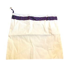 New Tory Burch small cotton off white dust bag